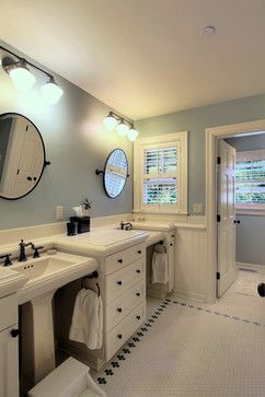 Jack And Jill Bath Design Ideas, Pictures, Remodel, and Decor