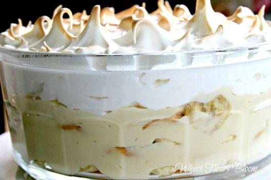bananapudding meringue | food | Pinterest