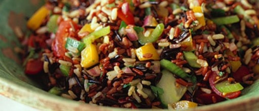wild rice with dried fruit and nuts | // Recipes | Pinterest