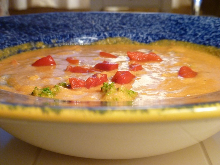 Roasted red pepper sweet potato soup | Favorite Recipes | Pinterest
