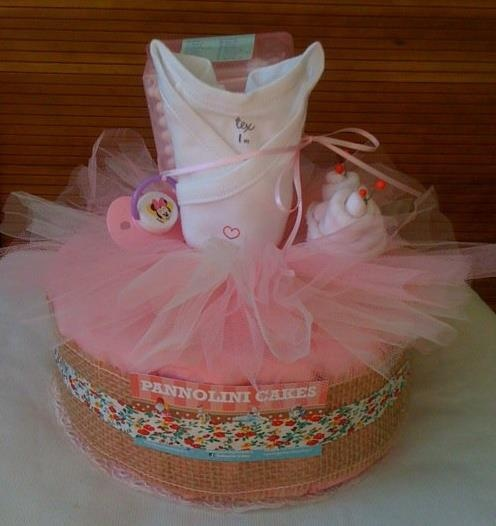 baby shower ballerina cake ideas and designs