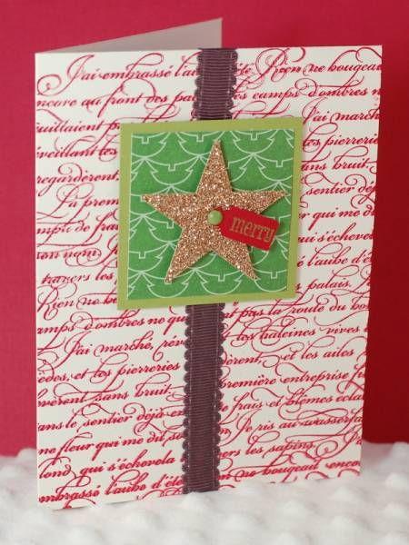 Christmas card ideas card making ideas pinterest for Christmas card ideas on pinterest