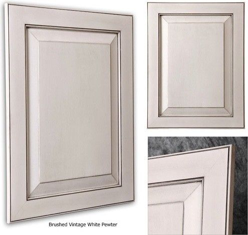 Pewter glazed white cabinets kitchen pinterest for Glazing white kitchen cabinets