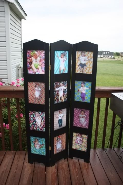 Display month by month pictures