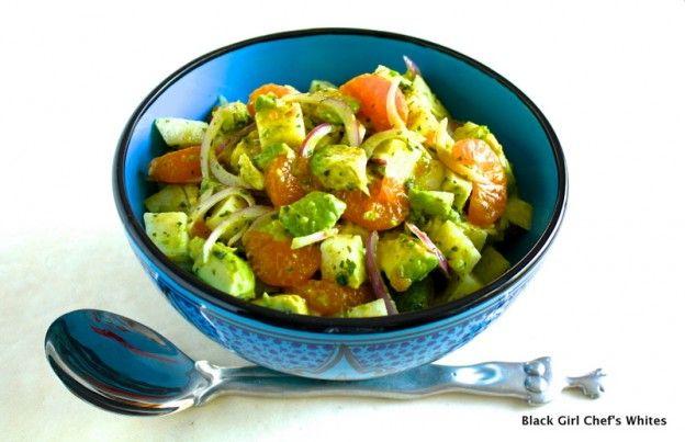 Avocado, Mandarin Orange and Jicama Salad with Key Lime Dressing   Re ...
