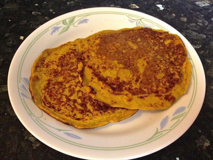 Pumpkin Spice Protein Pancakes | Food | Pinterest