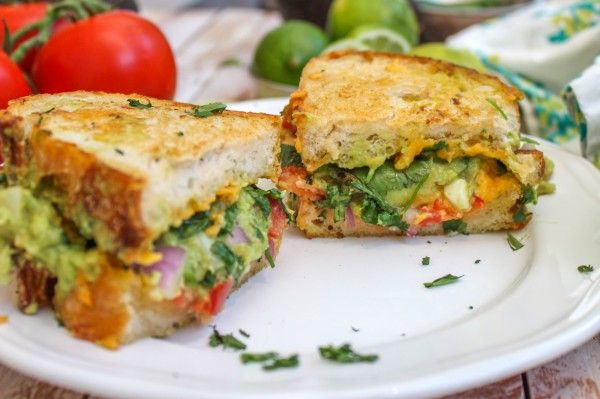 Guacamole Grilled Cheese Sandwich | Recipes | Pinterest