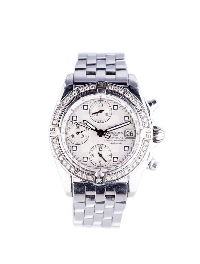 Breitling Diamond Bezel Watch | Fashion Closet Essentials ...