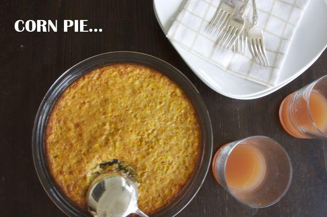Corn Pie | West Indian pride! | Pinterest