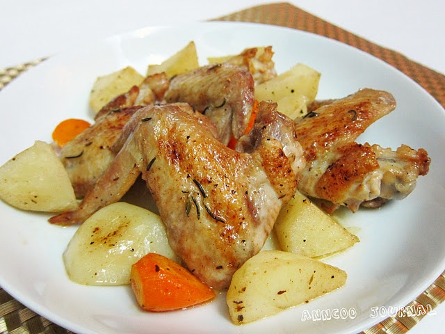Chicken with Rosemary and Garlic | My kind of food. | Pinterest