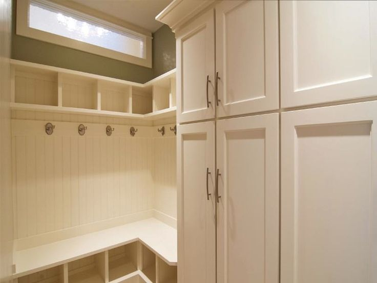 Corner Mudroom Pinterest