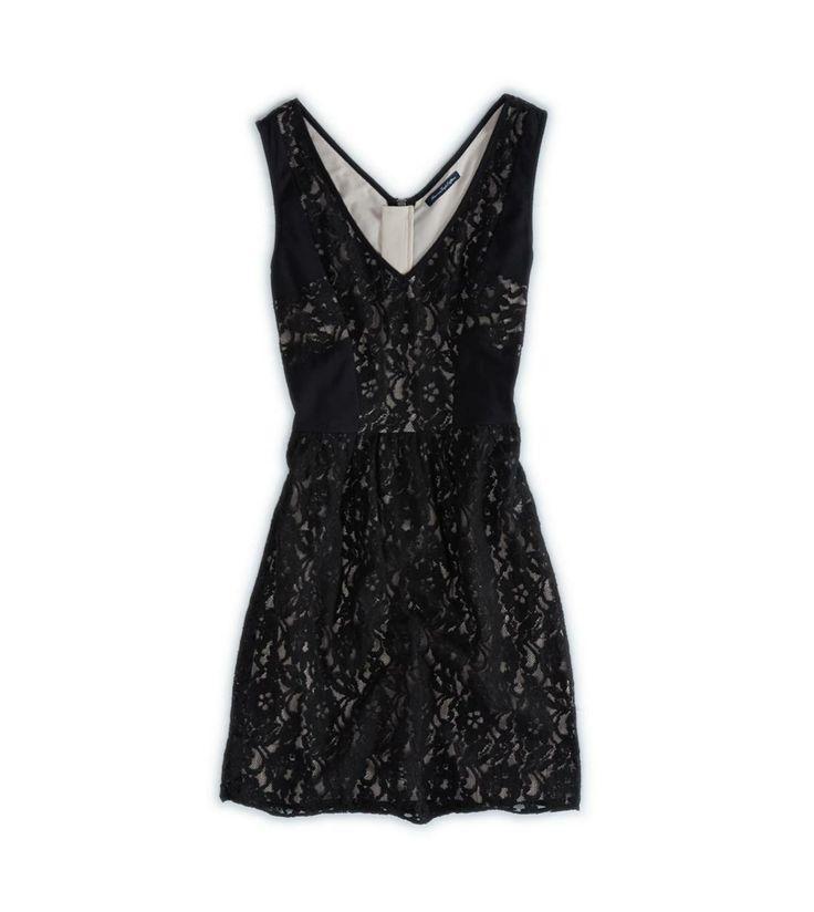 AE Double V Lace Dress