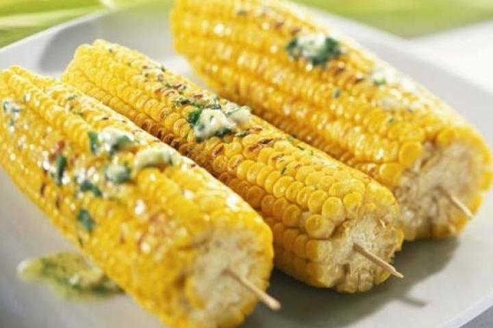 Corn On The Cob With Lime-Chive Butter Recipes — Dishmaps