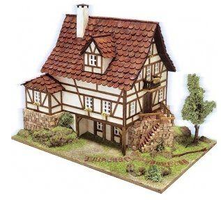 Maqueta de un viejo chalet casitas houses pinterest - Maquetas de chalets ...