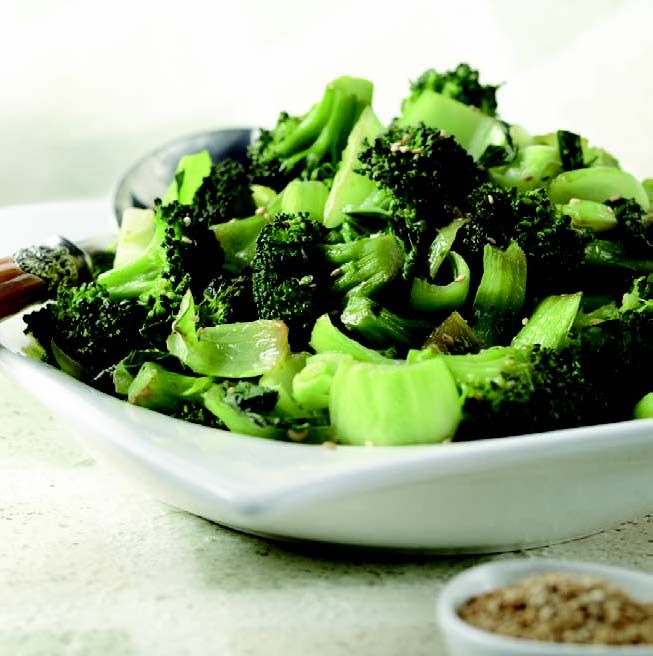 Sautéed Baby Bok Choy and Broccoli Florets | Simply Delicious: The ...