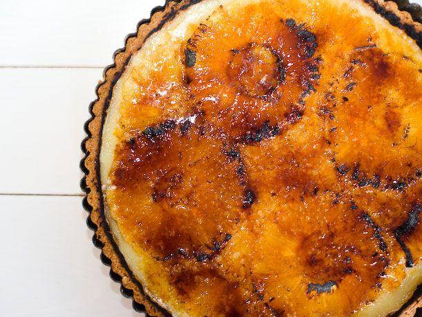 Bruleed Pineapple Tart from Serious Eats (http://punchfork.com/recipe ...