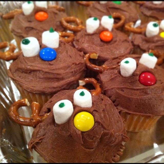 Moose+Cupcakes Moose cupcakes | Recipes | Pinterest