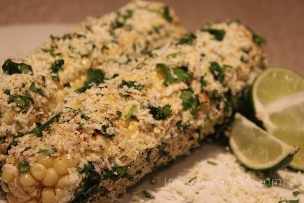Roasted Chile Lime Corn on the Cob Recipe