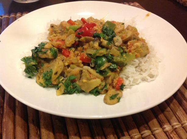 Mushroom Tikka Masala | Recipe