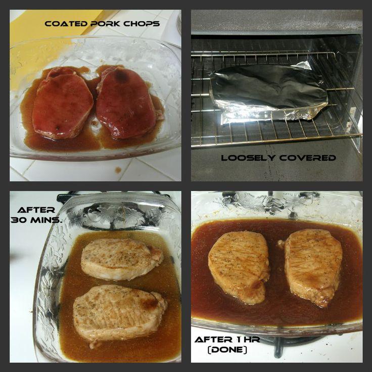 ... marinated baked pork chops recipe yummly marinated baked pork chops