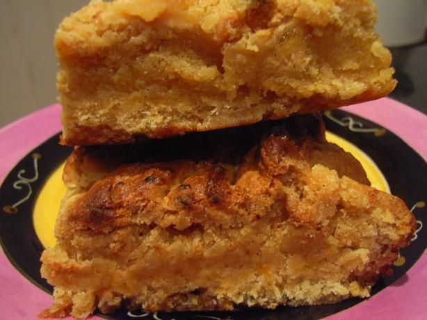 Blonde Brownies from Food.com: Golden brownies with pure brown sugar ...