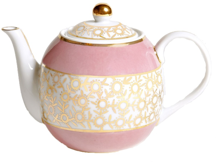 Fancy Teapot from Frette