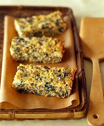 GymRa — Quinoa-Spinach Bake A baked mixture of quinoa,...