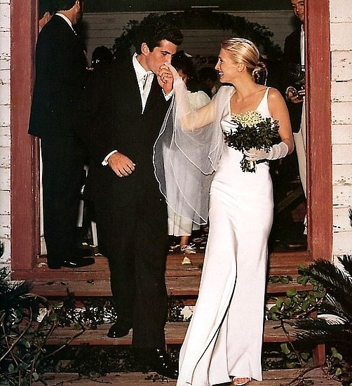 Carolyn Bessette in Narciso Rodriguez