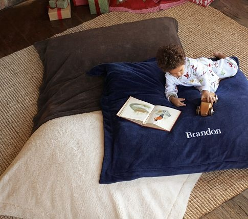 giant floor pillow  Daycare- Organization  Pinterest