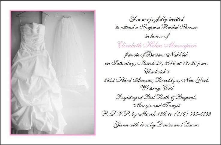 Invitations Bridal Shower with good invitation sample