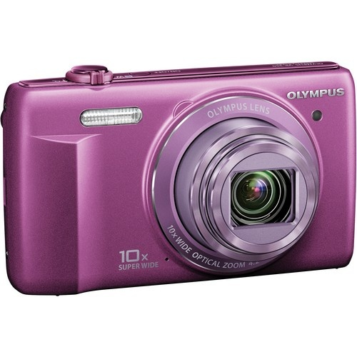 Great Mother's Day gift idea from www.uniquephoto.com! Olympus VR-340 digital camera in a unique purple color.
