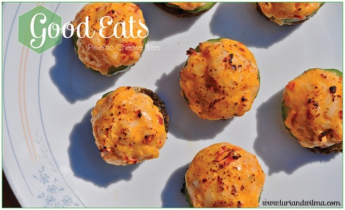 Good Eats | Pimento Cheese Bites | Appetizers | Pinterest