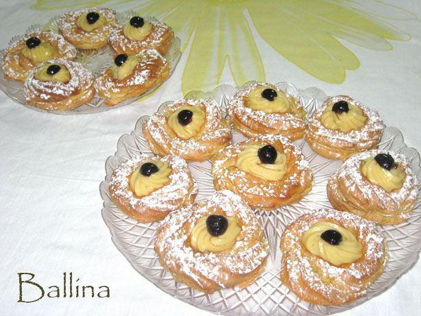 Chocolate Zeppole Di San Guiseppe Recipes — Dishmaps