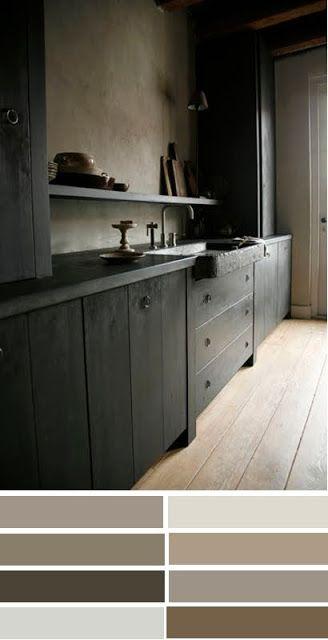Keuken Licht Of Donker : Kleurinspiratie: licht en donker Hjemmet farver og maling Pintere