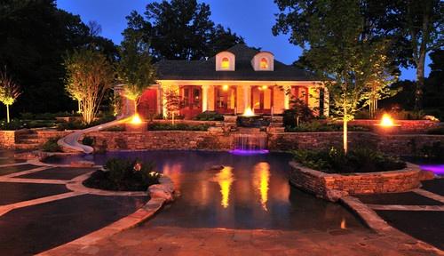 Eads Natural Pool And Backyard Resort : Eads Area Natural Pool & Backyard Resort Design