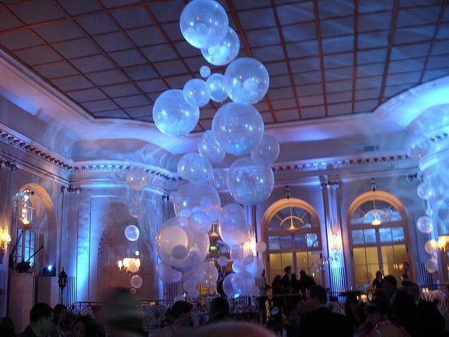 balloon decor | Wedding Inspiration | Pinterest