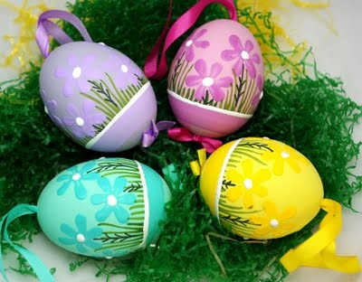More egg painting ideas