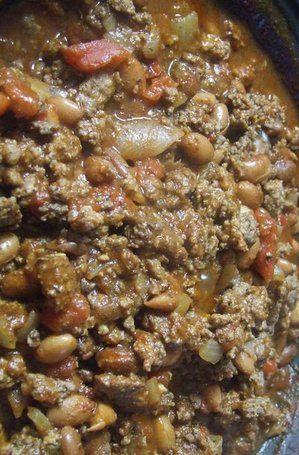 Recipe for Classic Chili Con Carne. Delicious! Instead of tomato sauce ...