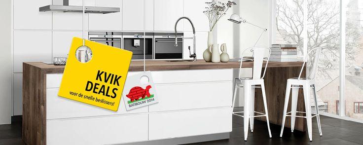 Keuken Scandinavische Stijl : Kvik – keukens Scandinavische stijl Living: Kitchen Pinterest