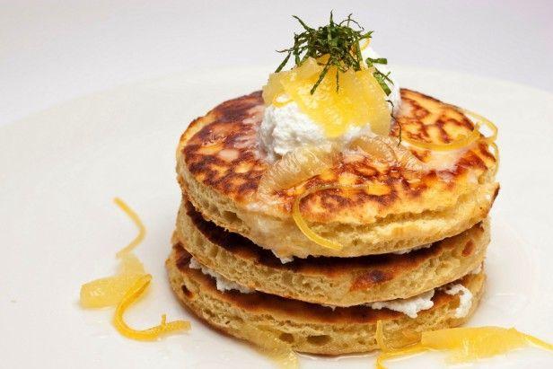 Lemon Ricotta Pancakes for National Pancake Day! Recipe here --> http ...