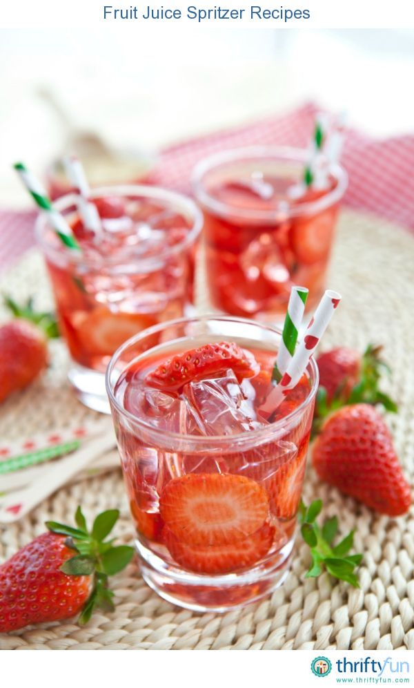 Healthy Sparkling Fruit Water Recipe — Dishmaps