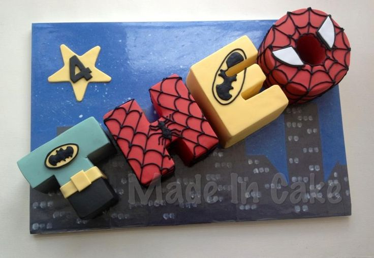 Best Images About Superhero Party On Pinterest