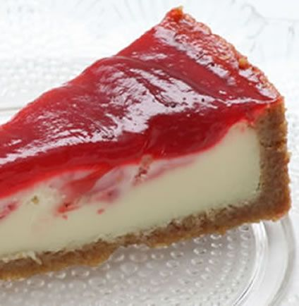 cherry and ricotta cheesecake is fragranced with vanilla and orange ...