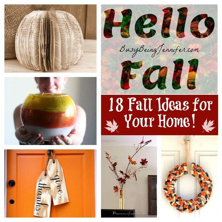 Pinterest Fall Decor Ideas