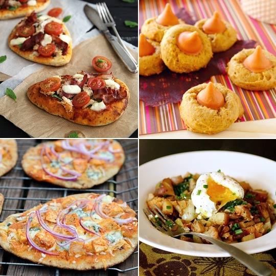 Pumpkin Spice Blossoms & Buffalo Chicken Pizza — Delicious Links