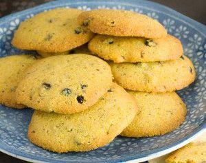 Lemon and Blueberry Polenta Cookies | Lemuuummmmmmmmmm | Pinterest
