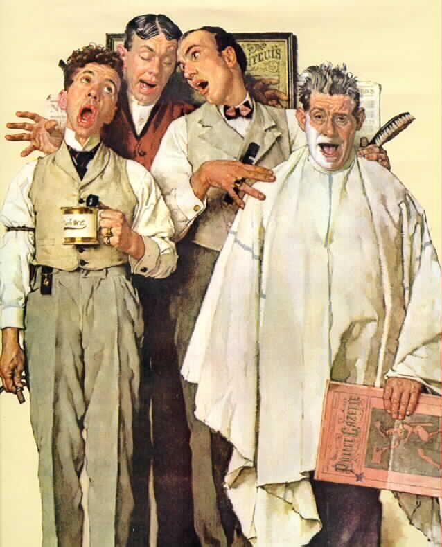 Barber Quartet : Barbershop Quartet... For the Gentlemen Pinterest