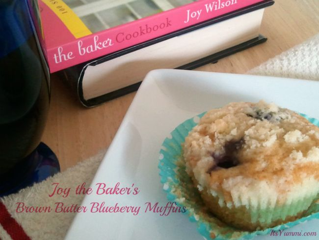 Browned Butter Blueberry Muffins from ItsYummi.com
