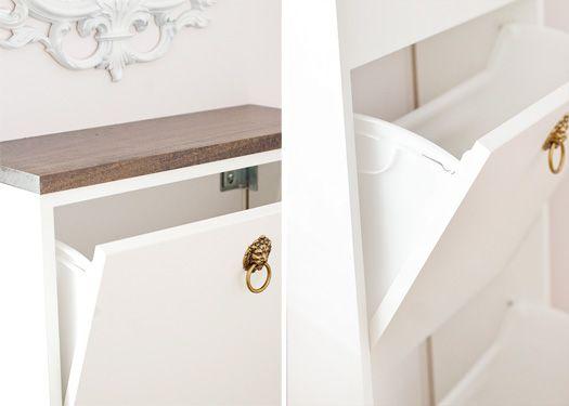 Ikea Shoe Storage Hack Interiors Entryways Pinterest