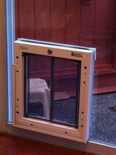 Doggie doors for french patio doors for the home pinterest for French patio door with dog door